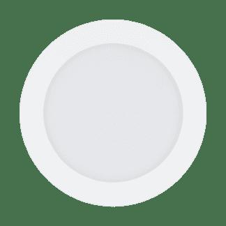 Φωτιστικό χωνευτό LED 10.5W RGB λευκό σώμα, στρόγγυλο Ø17cm EGLO FUEVA-C 32738