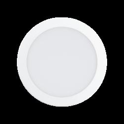 Φωτιστικό χωνευτό LED 15.6W RGB, σώμα λευκό, στρόγγυλο Ø22.5cm EGLO FUEVA-C 96668