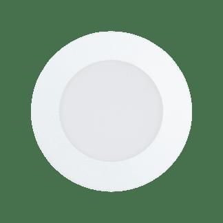 Φωτιστικό χωνευτό LED 5,4W RGB λευκό σώμα, στρόγγυλο Ø12cm EGLO FUEVA-C 32737