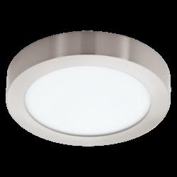 LED PANEL RGB 15.6W στρόγγυλο εξωτερικό  Ø22,5cm, λευκό σώμα EGLO CONNECT FUEVA-C 96671