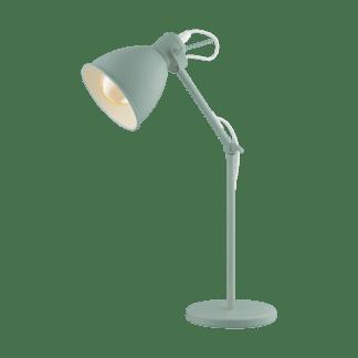 Επιτραπέζιο φωτιστικό clean coziness, μέταλλο παστέλ ανοιχτό πράσινο EGLO PRIDDY-P 49097