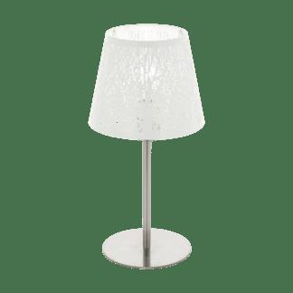 Επιτραπέζιο φωτιστικό vintage, λευκό EGLO HAMBLETON 49844