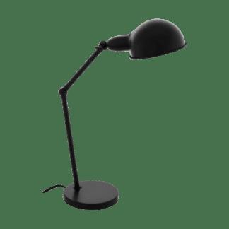Επιτραπέζιο industrial φωτιστικό, μέταλλο μαύρο EGLO EXMOOR 49041