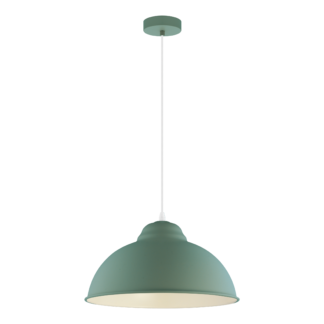 Κρεμαστό φωτιστικό clean coziness, Ø37cm μέταλλο σε χρώμα παστέλ σκούρο πράσινο EGLO TRURO-P 49063