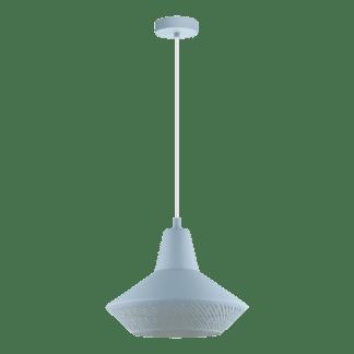 Κρεμαστό φωτιστικό clean coziness, μέταλλο σε χρώμα παστέλ γαλάζιο EGLO PIONDRO-P 49073