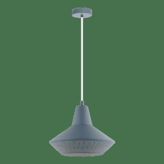Κρεμαστό φωτιστικό clean coziness, μέταλλο σε χρώμα παστέλ μπλε σκούρο EGLO PIONDRO-P 49075