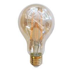 Λάμπα LED E27 A70 Filament 12.5W Θερμό λευκό 2200K Amber cover vtac 7457