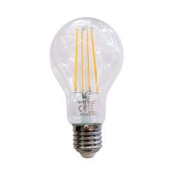 Λάμπα LED E27 A70 Filament 12.5W Θερμό λευκό 3000K Διάφανο vtac 7458