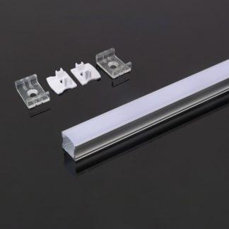 Προφίλ αλουμινίου για ταινίες LED 2000 x 17.2 x 15.5mm VTAC 3354Προφίλ αλουμινίου για ταινίες LED 2000 x 17.2 x 15.5mm VTAC 3354