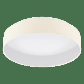 Φωτιστικό Οροφής 1x18W, Ø40,5cm Κρεμ Χρώμα Palomaro 1 96537