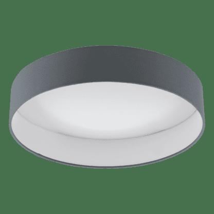 Φωτιστικό Οροφής Led 1x18W, Dimmable, Ø40,5cm Χρώμα Λευκό-Ανθρακί Palomaro 1 96538