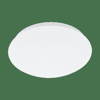 LED Φωτιστικό οροφής-πλαφονιέρα 12W 3000K Ø26cm λευκό με αισθητήρα κίνησης GIRON-M 97101