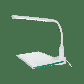 Φωτιστικό Γραφείου Με Μανταλάκι LED 4,5W Με Dimmer Αφής Σε Λευκό Χρώμα Laroa 96434