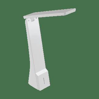 Φωτιστικό Γραφείου LED 1.8W, 3000K-5000K θερμό λευκό φως, Επαναφορτιζόμενο, με Dimmer Αφής, Λευκό LA SECA 97044