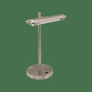 Φωτιστικό Γραφείου LED 4.4W, 3000K θερμό λευκό φως, Dimmer Αφής, σατινέ νίκελ CASAMARTE 97913