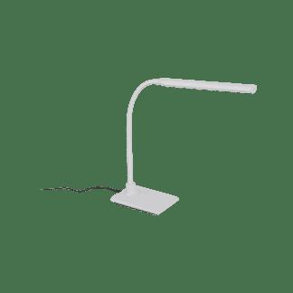 Φωτιστικό Γραφείου LED 4,5W Με Dimmer Αφής Σε Λευκό Χρώμα Laroa 96435