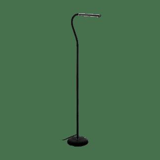 Φωτιστικό Δαπέδου Γραφείου LED 4,5W Με Dimmer Αφής Σε Μαύρο Χρώμα Laroa 96439