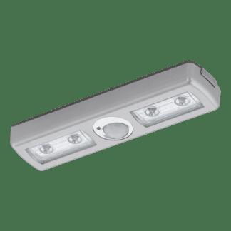 Φωτιστικό Κουζίνας - Ντουλάπας πλαστικό ασημί μπαταρίας LED EGLO BALIOLA 94686