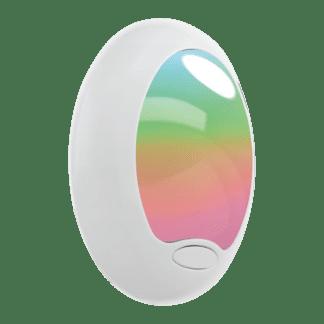 Φωτιστικό πρίζας LED RGB 0.6W πλαστικό λευκό TINEO 92964