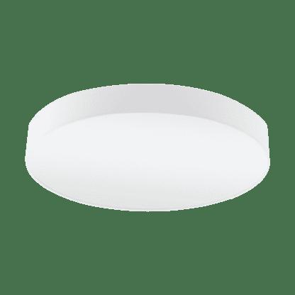 Φωτιστικό Οροφής Πεντάφωτο 5x60W Ø76cm με Ύφασμα Λευκό Eglo PASTERI 97615
