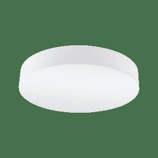 Φωτιστικό Οροφής Τρίφωτο 3x60W Ø57cm με Ύφασμα Λευκό Eglo PASTERI 97611