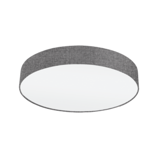 Φωτιστικό Οροφής 3x60W Ø57cm, Ύφασμα Λινό Γκρι Eglo PASTERI 97613