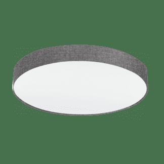Φωτιστικό Οροφής 5x60W Ø76cm, Ύφασμα Λινό Γκρι Eglo PASTERI 97617