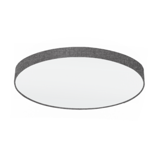 Φωτιστικό Οροφής 7x60W Ø98cm, Ύφασμα Λινό Γκρι Eglo PASTERI 97622