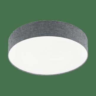 Φωτιστικό Οροφής LED 40W Ø57cm, Tunable White 3000-5000Κ Με Τηλεχειριστήριο Σε Λευκό+Γκρί Χρώμα Eglo Romao 97779