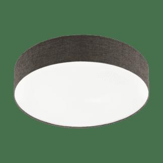 Φωτιστικό Οροφής LED 40W Ø57cm, Tunable White 3000-5000Κ Με Τηλεχειριστήριο Σε Λευκό+Καφέ Χρώμα Eglo Romao2 97781