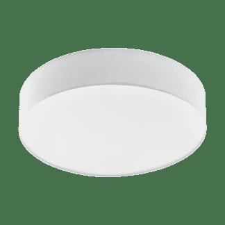 Φωτιστικό Οροφής LED 40W Ø57cm, Tunable White 3000-5000Κ Με Τηλεχειριστήριο Σε Λευκό Χρώμα Eglo Romao1 97777