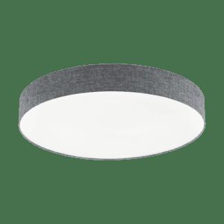 Φωτιστικό Οροφής LED 60W Ø76cm, Tunable White 3000-5000Κ Με Τηλεχειριστήριο Σε Λευκό+Γκρί Χρώμα Eglo Romao 97784