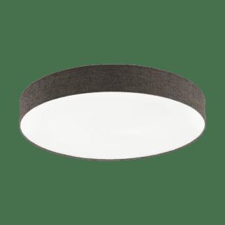 Φωτιστικό Οροφής LED 60W Ø76cm, Tunable White 3000-5000Κ Με Τηλεχειριστήριο Σε Λευκό+Καφέ Χρώμα Eglo Romao2 97785