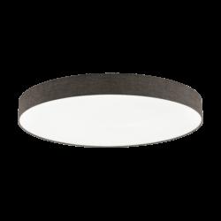 Φωτιστικό Οροφής LED 80W Ø98cm, Tunable White 3000-5000Κ Με Τηλεχειριστήριο Σε Λευκό+Καφέ Χρώμα Eglo Romao2 97789