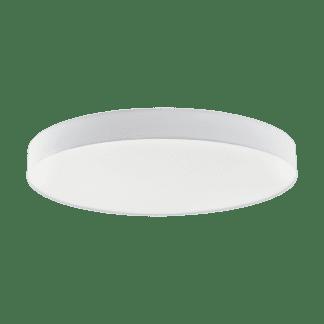 Φωτιστικό Οροφής LED 80W Ø98cm, Tunable White 3000-5000Κ Με Τηλεχειριστήριο Σε Λευκό Χρώμα Eglo Romao1 97786