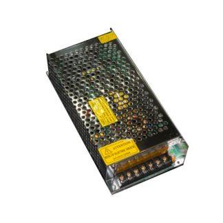 Τροφοδοτικό 200W 8A μεταλλικό 230V στα 24VDC για ταινίες & λάμπες led μη στεγανό IP20