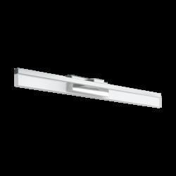 Φωτιστικό απλίκα LED 10W θερμό φως, μήκους 59.5cm, IP44, με μέταλλο σε χρώμιο PALMITAL 97966