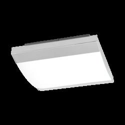 Φωτιστικό οροφής-απλίκα LED 23.5W φως ημέρας, IP44, με μέταλλο σε χρώμιο SIDERNO 97869