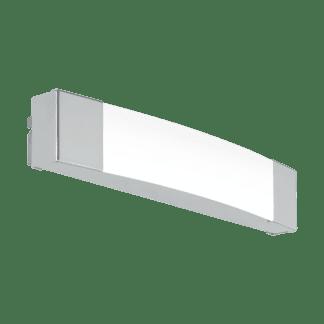 Φωτιστικό οροφής-απλίκα LED 8.3W φως ημέρας, IP44, με μέταλλο σε χρώμιο SIDERNO 97718