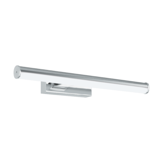 Απλίκα καθρέφτη μπάνιου LED 7,4W, φως ημέρας, μήκους 40cm, πλαστικό, χρώμιο-λευκό VADUMI 97081