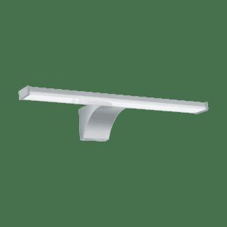 Απλίκα καθρέφτη μπάνιου LED 80W, φως ημέρας, μήκους 40cm, πλαστικό, ασημί-χρώμιο-λευκό PANDELLA 2 97059