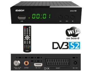 Δορυφορικός δέκτης με θύρα Card Reader και δορυφορικό tuner DVB-SS2 PICCO S2 01-07-0019