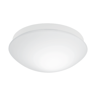 Φωτιστικό μπάνιου οροφής με αισθητήρα κίνησης, Ø27,5cm, λευκό σώμα BARI-M 97531