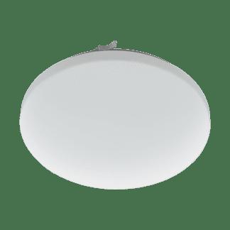Φωτιστικό μπάνιου οροφής-τοίχου LED 17,3W θερμό φως, Ø33cm, λευκό σώμα FRANIA 97884