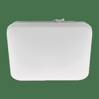 Φωτιστικό μπάνιου οροφής-τοίχου LED 17,3W θερμό φως, 33cm, λευκό σώμα FRANIA 97885