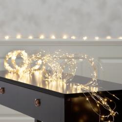 Φωτάκια Χαλκού 20LED 2m, ψυχρό φως, με Μπαταρία κωδ: 90-05-POL139