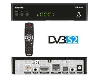 E2 LINUX Full High Definition δορυφορικός δέκτης OS NINO DVB-S 01-08-008