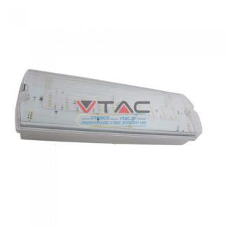LED Φωτιστικό ασφαλείας επιτοίχιο Samsung SMD 4W Λευκό 6000Κ V-TAC 838