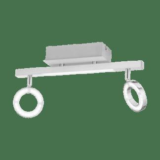 Φωτιστικό Σποτ Τοίχου & Οροφής Led με Λευκό Χρώμα Eglo Cardillio 96179