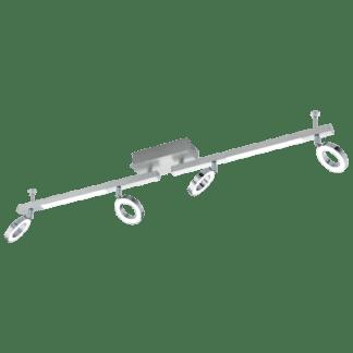 Φωτιστικό Σποτ Τοίχου & Οροφής Led με Λευκό Χρώμα Eglo Cardillio 96182